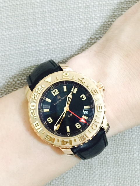 Blancpain Fifty Fathoms GMT Rose Gold Limited