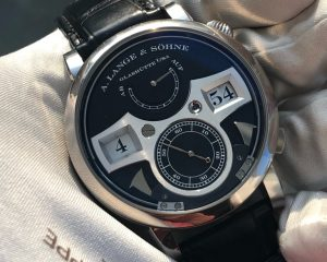 A. Lange & Söhne Zeitwerk Striking Time 145.029 White Gold