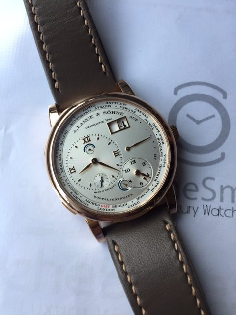 Lange 1 Timezone Rose gold