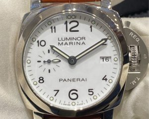 PANERAI PAM00523 White Dial Luminor Marina 1950 3 Days Automatic