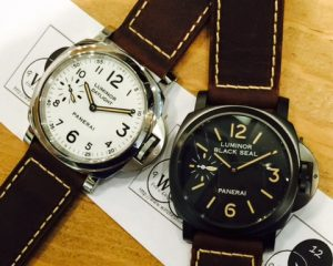 Panerai Luminor Pam785 Blackseal and Daylight Set