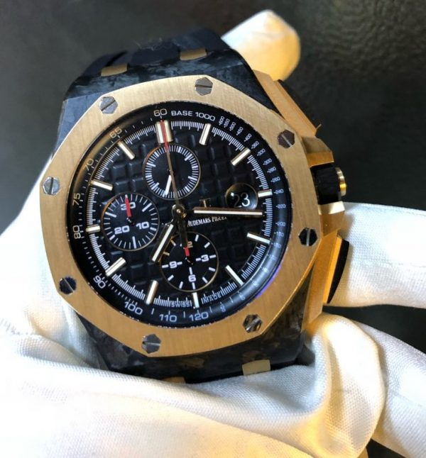 Audemars Piguet Royal Oak Offshore QE II Cup 2016 Rose Gold/Carbon Limited Edition 200 Pcs Reference 26406FR.OO.A002CA.01