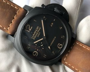 Panerai LUMINOR 1950 3 DAYS GMT AUTOMATIC CERAMICA - 44MM