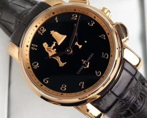 Ulysse Nardin Hourstriker 18K Rose Gold 42mm 6106-103/E2