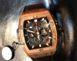 New Hublot Spirit of Big Bang Chronograph  18K Rose Gold 42mm 641.OX.0183.LR