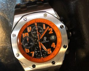 "Audemars Piguet Royal Oak Offshore Chronograph ""Volcano"" 26170ST.OO.D101CR.01"