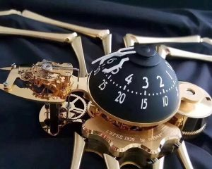 MB&F Arachnophobia (Spider) Machine in Yellow Gold Plated Brass  Limited Edition Reference 76.6000/011
