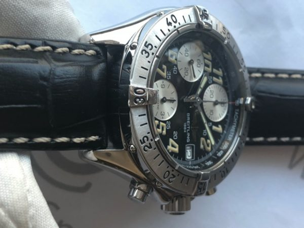 Chronograph Black Dial Reference 130351