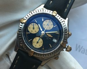 Breitling Chronograph 18K/SS Reference B13050.1
