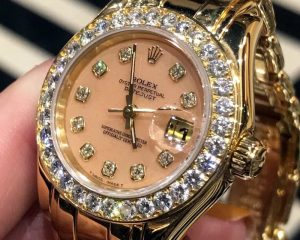 Rolex Lady Masterpiece Pearlmaster Yellow Gold 80298