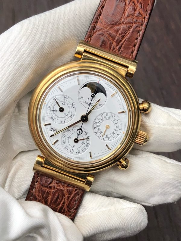 IWC Da Vinci Perpetual Calendar Chronograph18K Yellow gold