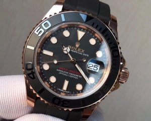 Rolex Yacht Master 116655 Mens 40mm Automatic Everose Gold