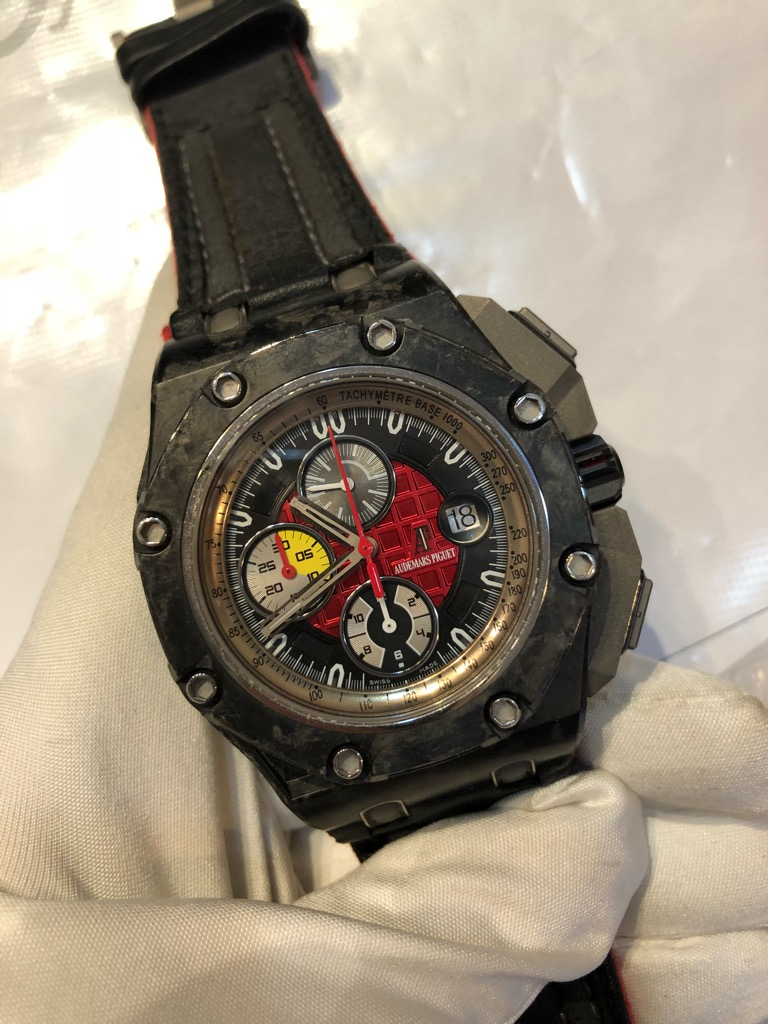 Offshore Grand Prix Forged Carbon Limited Edition Watchesmiles