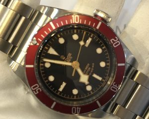 Tudor Heritage Black Bay Reference 79220R Red Bezel