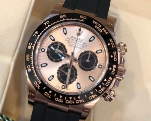 Daytona Rose Gold Ceramic Oysterflex