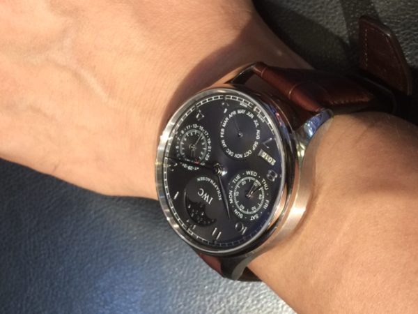 IWC Portuguese Perpetual 502218, Grey dial
