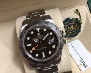 Rolex Explorer 2 Black Dial