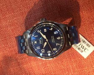 IW327014 Mark VXIII Le Petit Prince blue Dial