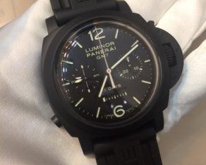 Panerai PAM317 8 Days, GMT, Chronograph