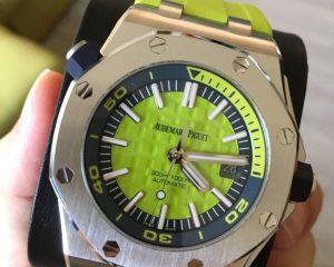 Audemars Piguet 15710ST.OO.A038CA.01 Funky Green Diver