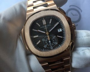 Patek Philippe Nautilus Chronogaph Rose Gold 5980/1R