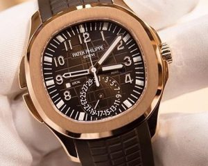 Patek Philippe 5164R Aquanaut Travel Time Rose Gold