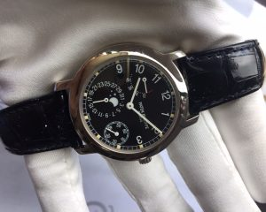Patek 5055G White Gold Date, Power Reserve , Moon Phase