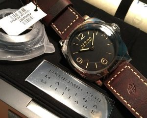 Panerai PAM 587 Radiomir 1940 Marina Militare 3 Days Acciaio 47mm Limited Edition 1000 pcs 47mm