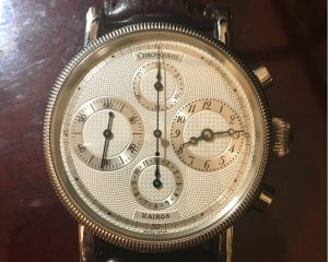 Chronoswiss Kairos Chronograph Principia Reference number: CH7523 Box, papers, service papers from 2004 Very good condition