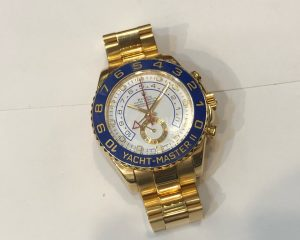 Yacht Master II 18K Yellow Gold 116688 Z Serial