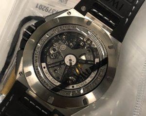 New IWC Ingenieur Perpetual Calendar Digital date Chronograph Titanium IW379201