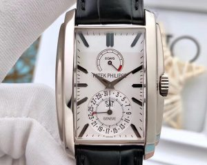 Patek Philippe Gondolo 8 Days Power Reserve White Gold White Dial 5200G-010