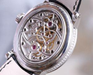 Franck Muller Skeleton Tourbillon Classic White Gold Diamond case Reference 7002 T SQT D