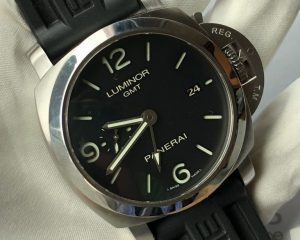PANERAI PAM 320 Luminor 1950 3 Days GMT Automatic Acciaio - 44mm