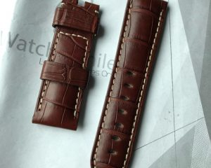 New Panerai OEM Alligator Strap 24/22, 115/75