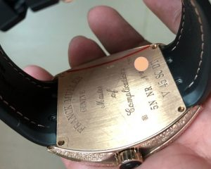 Franck Muller Vanguard 18K Rose Gold Automatic V45 SC DT NR 5N