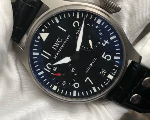 IWC Big Pilot 500411 Bartorelli Limited Edition 50 Pcs Titanium
