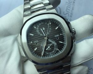 Patek Philippe Nautilus Chronograph Travel Time 5990/1A
