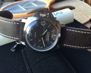 Panerai PAM368 Luminor 1950 Left-handed 8 Days Titanium 47mm Limited Edition