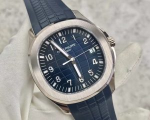 Patek Philippe Aquanaut White Gold Blue Dial 20th anniversary 5168G-001