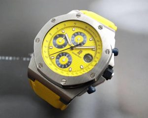 Audemars Piguet Royal Oak Offshore Chronograph Yellow Themes 25770ST
