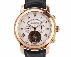 Audemars Piguet Jules Audemars Tourbillon Chronograph Rose Gold 26010OR.OO.D088CR.01