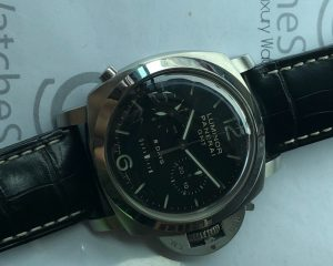 Panerai Luminor 8 Days / GMT/ Chronograph Monopulsante 44mm Steel PAM 275
