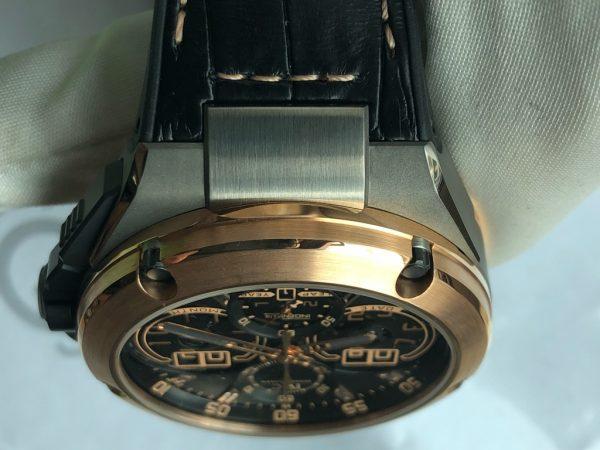 New IWC Ingenieur Perpetual Calendar Digital date Chronograph Rose Gold Titanium IW379203