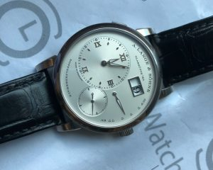 Lange 1 18K White Gold 191.038 Latest Series