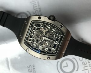 Richard Mille RM67-01 Titanium Extra Flat  Skeletonized Dial