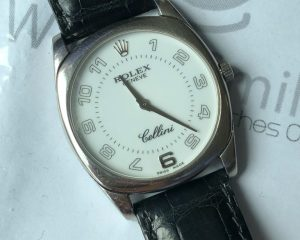 Rolex Cellini Danaos 18k White Gold 36mm Reference 4233