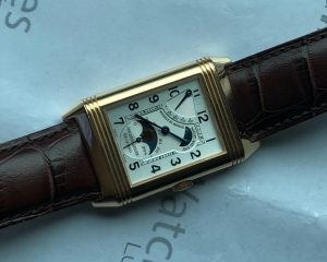 Jaeger-LeCoultre Reverso Sun Moon Manual Winding 18K Rose Gold 27.0.63