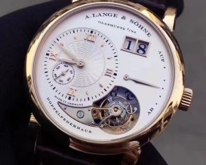 Lange 1 Tourbillon Honey Gold Limited Edition 150 Ref 722.050