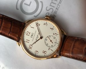 IWC Portugieser Portugieser F.A. Jones in Rose Gold 5442-01 Limited Edition